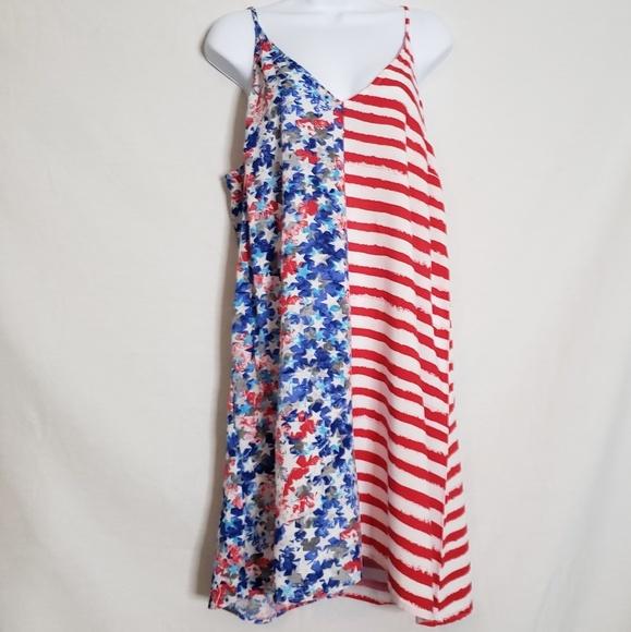 O\'rageous plus size American Flag dress